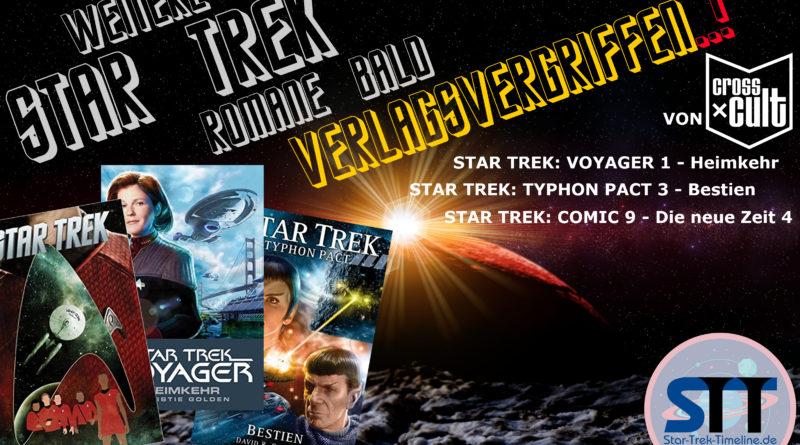 Star Trek Romane verlagsvergriffen